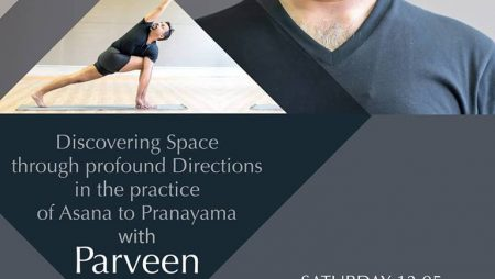2 days Workshop with Parveen Nair, from Rishikesh, India