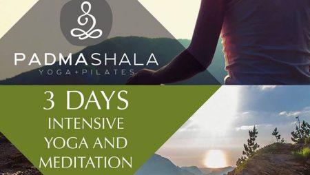 3days Intensive Yoga & Meditation Retreat with Filippos Lazaridis