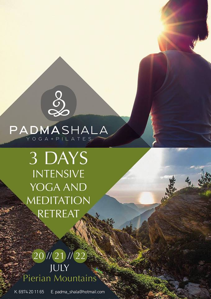 3days Intensive Yoga & Meditation Retreat with Filippos Lazaridis