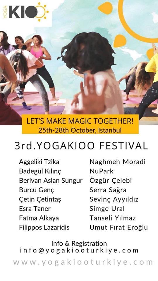 3rd Yogakioo Festival Istanbul