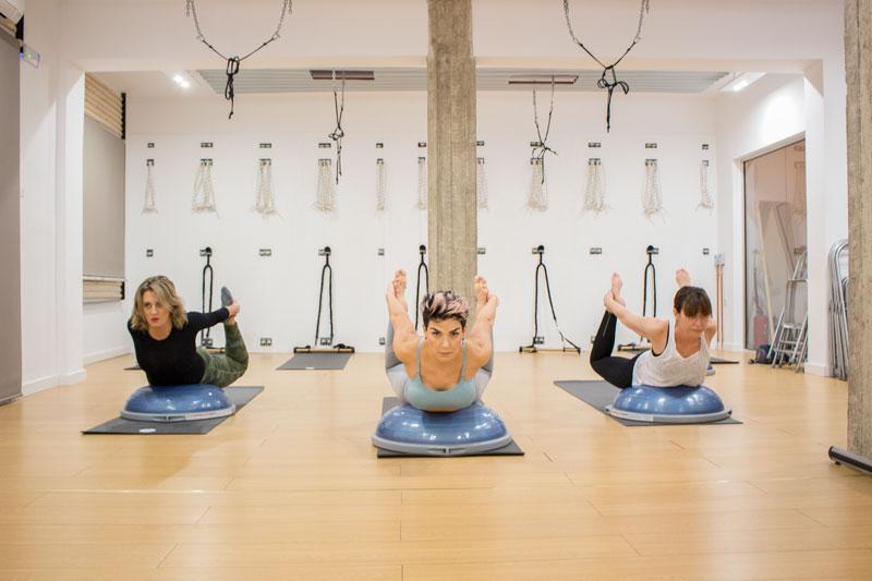 Bosu - Padma Shala Katerini - Yoga & Pilates