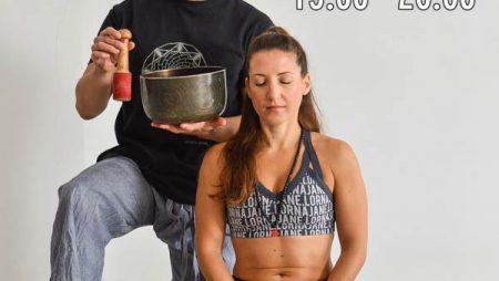Tibetan Singing Bowls and Sound Massage 11/19