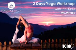 2 Days Yoga Workshop With Inci Unlu 28-29/03